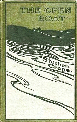 An illustration for the story The Open Boat by the author Stephen Crane