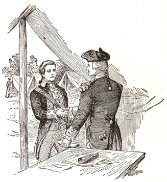 The Patriot Spy, Nathan Hale Meets with General George Washington