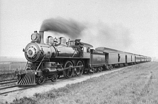 The Pony Engine and the Pacific Express