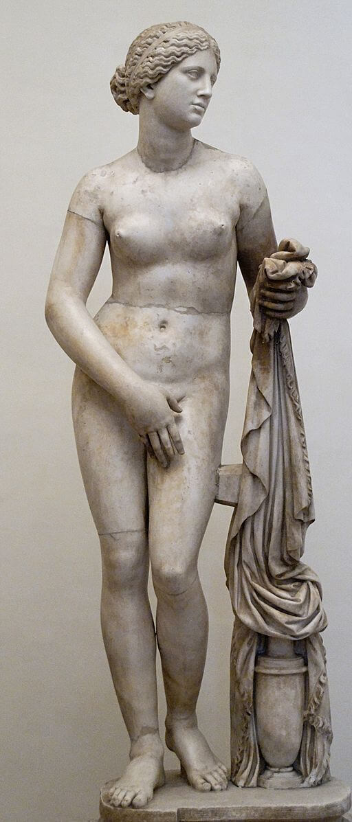 The Race of Orven, Cnidus Aphrodite, Roman copy of 4th century Greek sculpture