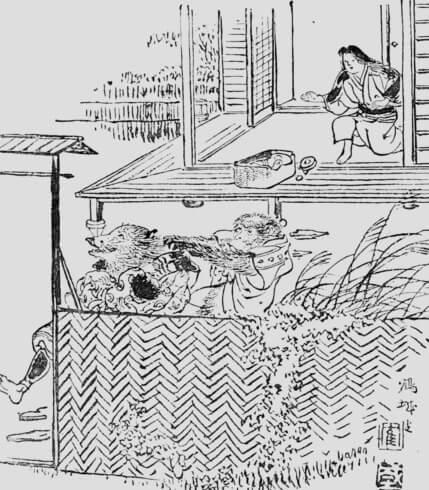 The Sagacious Monkey and the Boar