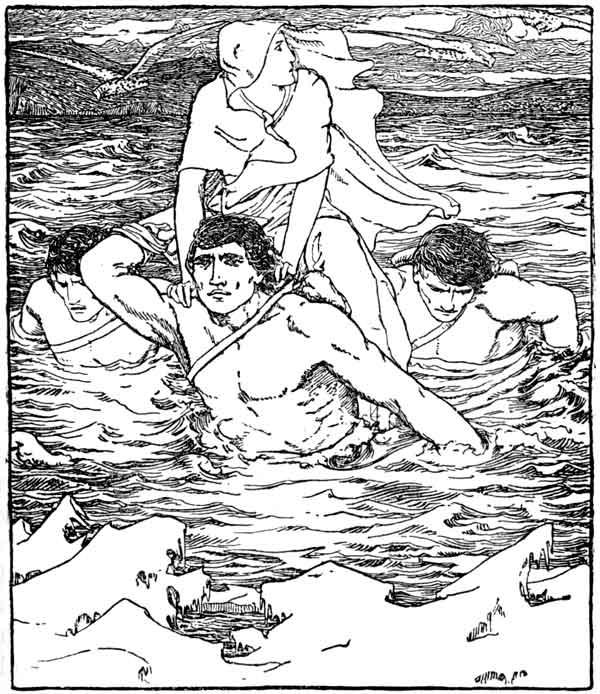 The Story of Deirdre druid