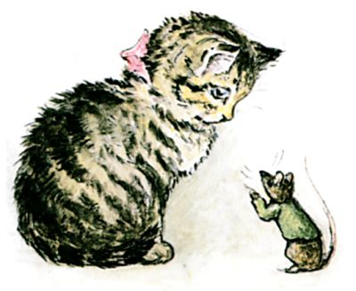The Story of Miss Moppet cover
