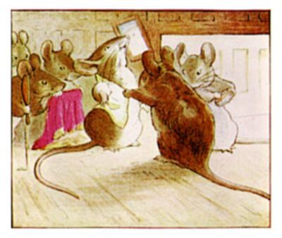 The Tailor of Gloucester, mice
