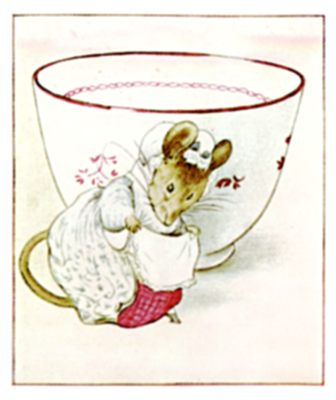 The Tailor of Gloucester, teacup