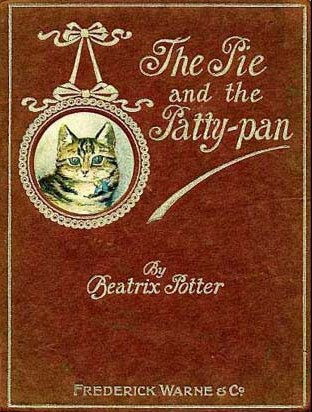 An illustration for the story The Tale of the Pie and the Patty-Pan  by the author Beatrix Potter