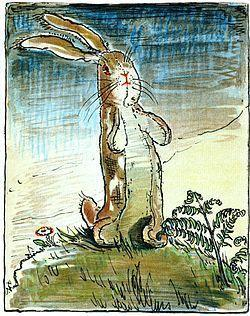 The Velveteen Rabbit is happy and loved