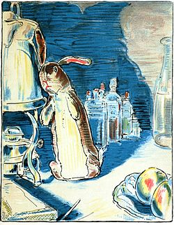 The Velveteen Rabbit loves the boy and waits patiently for him