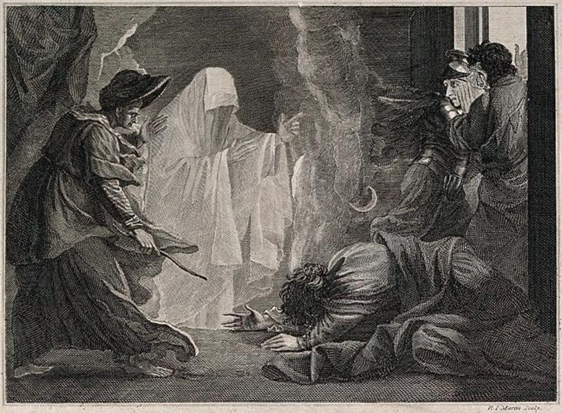 An illustration for the story Thurnley Abbey by the author Perceval Landon