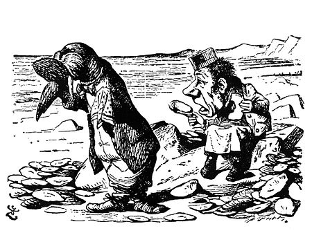 An image of the Walrus and the Carpenter