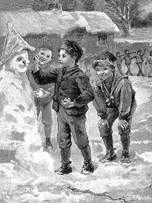 Pre-K Phonics: A Snow Man