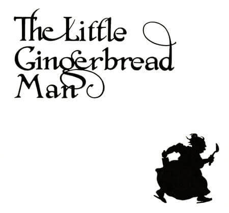 The Gingerbread Man title page