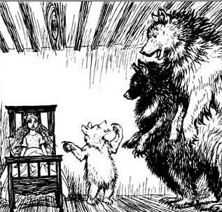 Fairy Tales for Ages 4-7, Goldilocks and the Three Bears