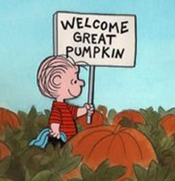Linus waits for The Great Pumpkin, a holiday tradition thanks to Peanuts' creator, Charles Shultz!