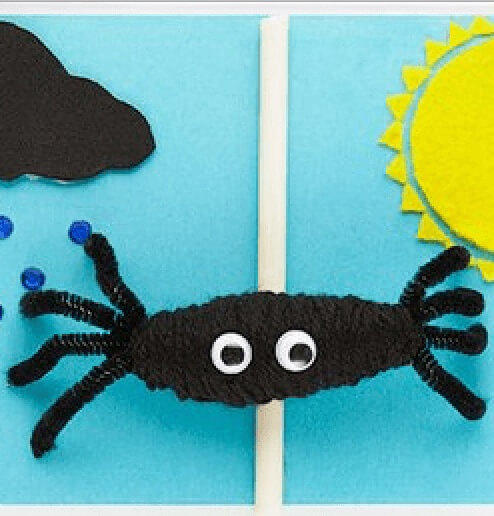 Read-Aloud Stories for Pre-K, The Itsy Bitsy Spider