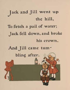 Pre-K Phonics: Jack and Jill went up the hill to fetch a pail of water
