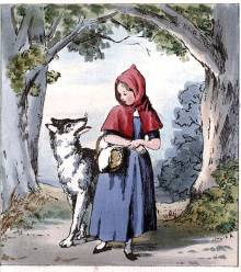 Halloween Stories for Children: Wolf Wears a Costume in Little Red Riding Hood