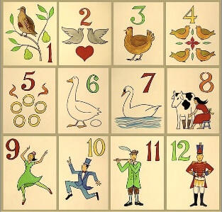 Pre-K Counting: The Twelve Days of Christmas